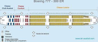 siege boeing 777 300er air places à bord d un boeing 777 300er réunion