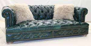 Turquoise Leather Sofa Turquoise Leather Sofa Hickory Tannery Furniture Free