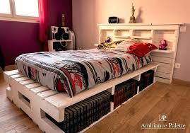 Pallet Platform Bed Palette Bed Wooden Pallet Platform Bed Diy Pallet Bed Frame