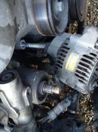 lexus is300 alternator replacement diy alternator and accesory belt tensioner clublexus lexus