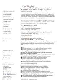 Sample Resume Of Engineering Student by European Design Engineer Sample Resume Haadyaooverbayresort Com