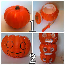 styrofoam pumpkins jennuine by rook no 17 how to make folk from