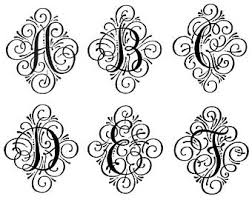 vine letter monogram car stickers letter car decal glitter