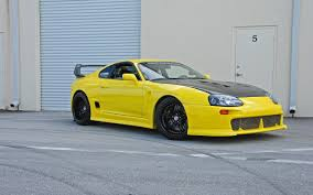 cars toyota supra car yellow cars toyota supra tuning wallpapers hd desktop and