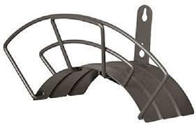2 ea suncast corp wmh1505b hd wall mount metal garden hose hanger
