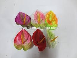 Silk Calla Lilies Mini Fabric Anthurium Heads Newly Design Artificial Calla Lily