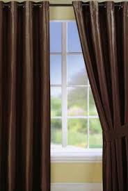 Chocolate Curtains Eyelet Parisienne 90x90 Chocolate Eyelet Curtains Harry Corry Limited