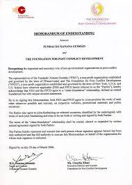 memorandum of cooperation template eliolera com