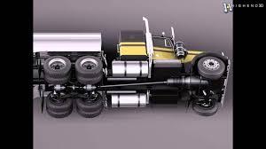 new kenworth models kenworth w900 tanker truck 1974 3d model from creativecrash com