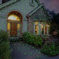 light projector for house the virtual christmas lights hammacher schlemmer