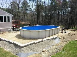deck design ideas for above ground pools best above ground pool