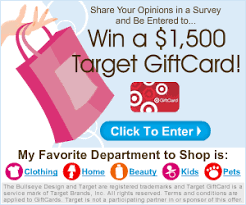 how to win gift cards win a 1 500 target gift card