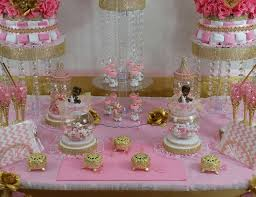 candy bar baby shower princess baby shower pink and gold baby shower candy buffet