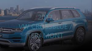 volkswagen crossblue 2017 vw crossblue teramont youtube
