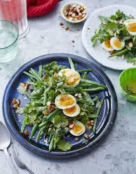le cerfeuil en cuisine salade de haricots verts œuf noisettes et cerfeuil régal