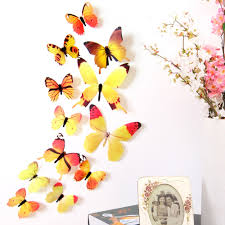 online shop 12 pcs set diy 3d butterfly wall stickers fashion online shop 12 pcs set diy 3d butterfly wall stickers fashion decal wall stickers home decorations rainbow home decor for living room aliexpress mobile