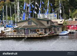 Sleepless In Seattle Houseboat by Floating Home Used Sleepless Seattle Stock Photo 5553325