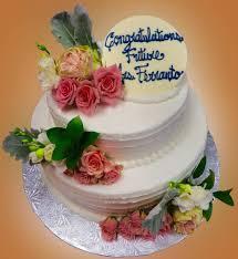 bridal shower cake roses sweet somethings desserts