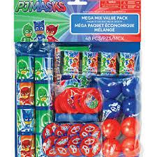 pj masks mega favors pack kids birthday party supplies