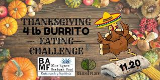 4 lb burrito challenge blue agave baltimore 20 november