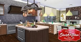 simsational designs updated shaker kitchen