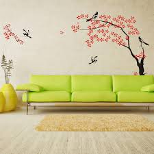 Cartoon Wall Painting In Bedroom Modern Design Modern Wall Paint Ideas Wall Painting Beautiful Wall