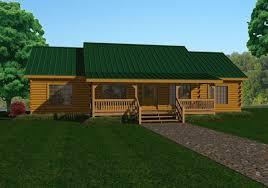 single level homes single story log homes floor plans kits battle creek log homes