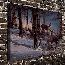 aliexpress com buy a744 terry redlin night watch deer animal