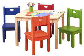 table chair set for child wood table and chair set kids wooden table and chairs set non