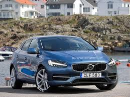 volvo hatchback 2015 2016 volvo v40 facelift rendering