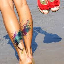12 beautiful watercolor tattoos worth getting
