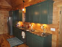 solid american custom hardwood cabin kitchen charles r bailey