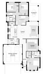 3 bedroom flat plan drawing bath house plans story and design