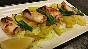 cuisine à la plancha calamares a la plancha picture of bar l univers barcelona