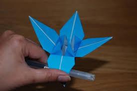 cara membuat bunga dari lipatan kertas origami bunga lily liliany candra
