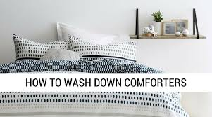 How To Wash Comforter Wash Or Dry Clean Down Comforter Diydry Co