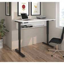 Desk Height Adjusters by Height Adjustable Desks Costco