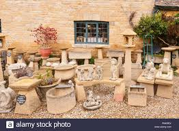 cotswold garden ornaments for sale in the uk stock photo