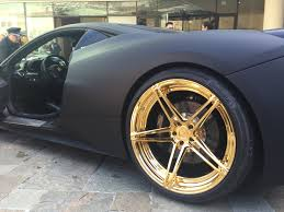 ferrari 458 black black and gold ferrari 458 in monaco amazing bling luxury