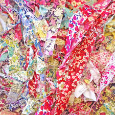 sale half price liberty fabric ribbons strips scraps