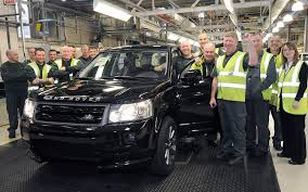 land rover freelander 2006 still going 300 000th land rover freelander 2 built at halewood plant