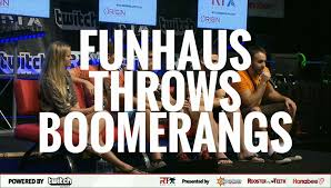 moments from rtx funhaus throws boomerangs youtube