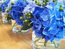 blue hydrangea wedding centerpieces ideas shower pinterest