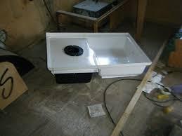 rv shower pans canada showers decoration build thread ford e350 uhaul to race hauler conversion totter home idea6