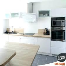cuisine blanche plan de travail bois cuisine blanche plan de travail bois plan travail crence cuisine