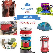 gift guide for outdoor families family adventure