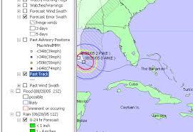hurricanemapping shapefile dataset description