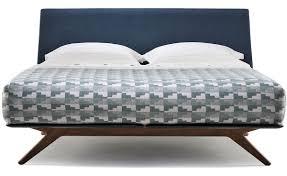 King Size Mattress Pad Hepburn King Size Bed 351 Hivemodern Com
