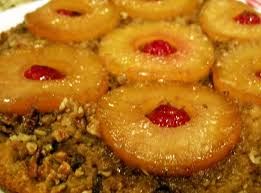 pineapple upside down cake in a castiron skillet recipe just a pinch