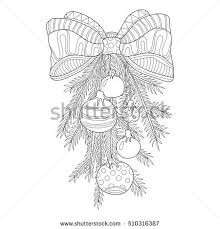 pina colada coloring page zentangle stock vector 491640850